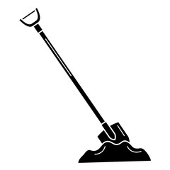shovel construction isolated icon vector illustration design