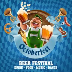 Beer festival Oktoberfest celebrations