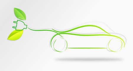 electric car - voiture électrique