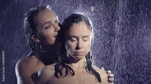 Black girl lesbian nude shower