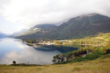 Waterton Lake by Village