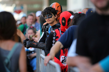Comic Con International opens in San Diego, California