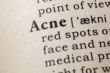 definition of Acne