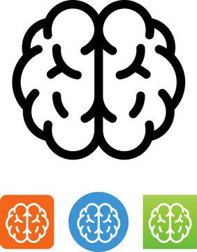 Brain Icon - Illustration