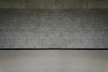 Gray Cement Wall and floor