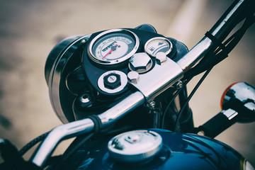 Odometer of motorcycle.