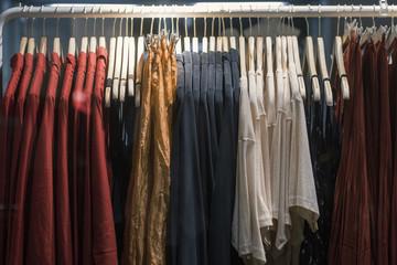 Fashion sales - diversity of clothes