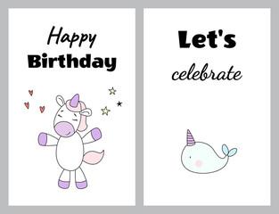 Happy birthday. Let's celebrate