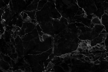 Black marble texture background with detailed structure beautiful and luxurious, abstract marble texture in natural patterns for design art work, black stone floor pattern with high resolution.