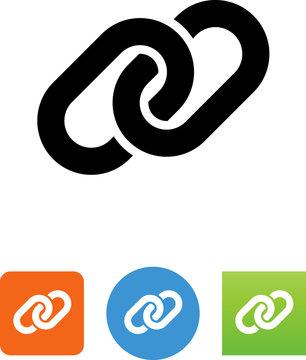 Chain Link Icon - Illustration