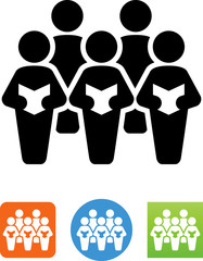 Choir Icon - Illustration