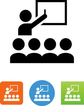 Classroom Icon - Illustration