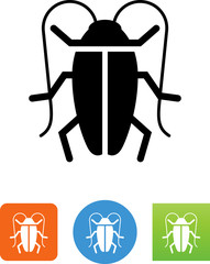 Cockroach Icon - Illustration