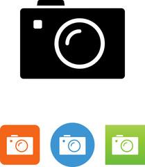 Compact Camera Icon - Illustration