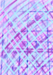 Pattern with pencil lines, pink, purple, blue