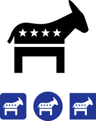Democrat Icon - Illustration