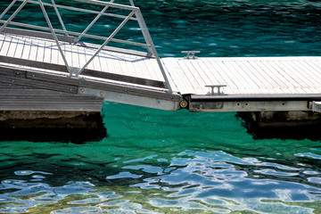 Marine dock abstract detail summer sea concept background