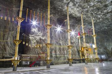 Adventure park in the Salt mine