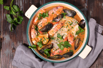 fish soup bouillabaisse