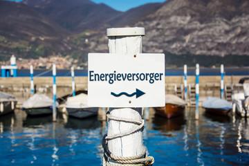 Schild 232 - Energieversorger