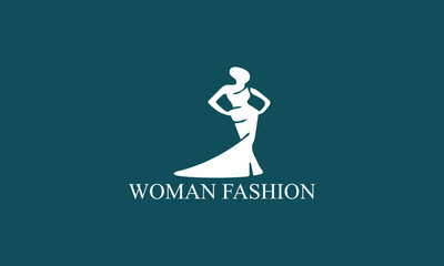 woman fashion logo
