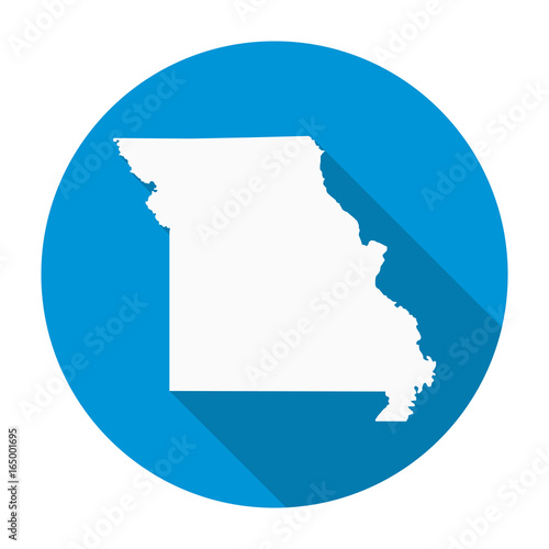 Missouri map flat icon stock image and royalty free vector files on missouri map flat icon gumiabroncs Images