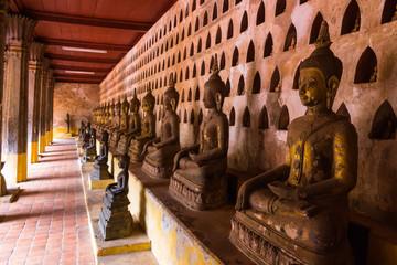 ラオス・ビエンチャン・ワット・サケット・最古の寺院