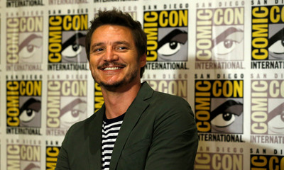 "Cast member Pascal poses at a press line for ""Kingsman: The Golden Circle"" during the 2017 Comic-Con International Convention in San Diego"