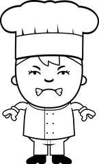 Angry Child Chef