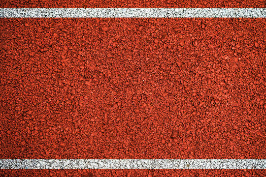 Orange background texture with white lines Track for running
