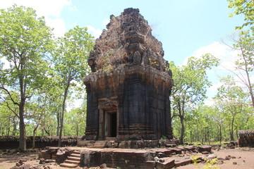 Cambodia . Koh Ker city . Prasat Neang Kmau . Preah Vihear province . Siem Reap city .