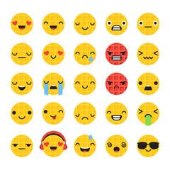Waffle emoticons
