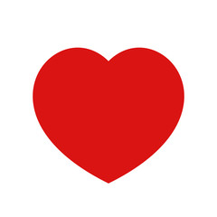 heart icon isolated