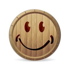 vin - tonneau - qualité - satisfaction - étiquette - sourire - aimer - plaisir