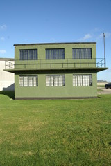 world war 2 military airfield control tower, yorkshire