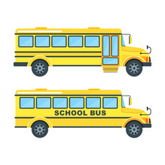 yellow schooll bus