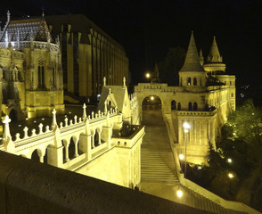night scenery in Budapest