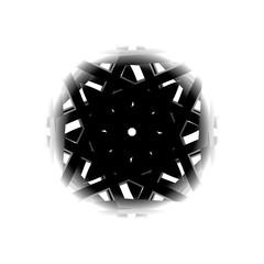 Geometric pattern symmetry symbol fractale pentagram astrology