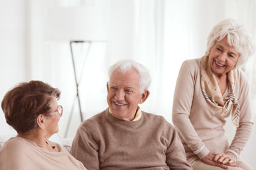 friends in nursing home