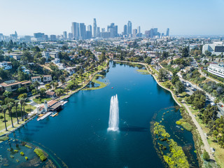 Photo sur Aluminium Los Angeles Los Angeles - Echo Park