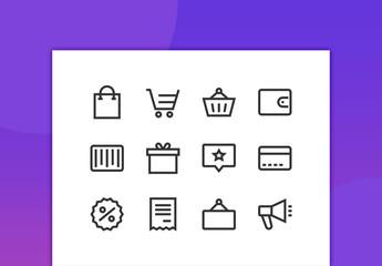 Commerce Line Icons