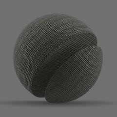 Linen Blend Double Weave Line Stitch