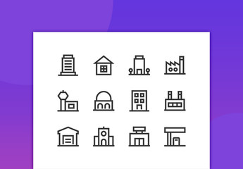 Property Line Icons