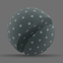 Synthetic Microfibre Fabric Dot Print