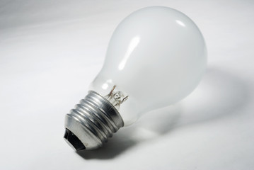 Old bulb of glass world currencies, energy and economy