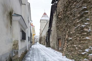 Fortress wall of Tallinn