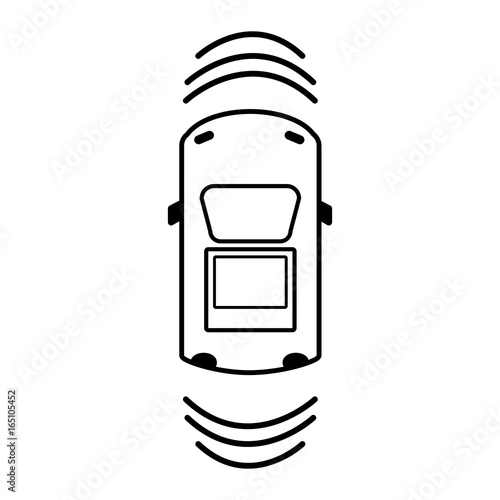 line car transportation from above with sunroof stock image and rh fotolia com Hot Rod Flames Clip Art Soul Food Clip Art