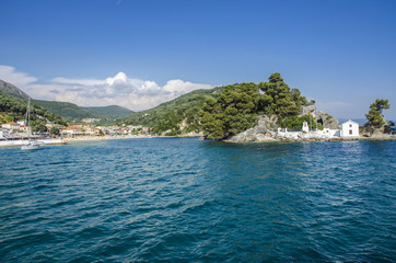Panagia Island in Parga, Greece