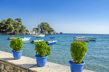 Sea scene - Parga, Greece - Ionian Sea