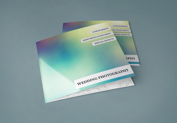 Square Trifold Brochure Layout 1